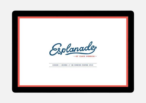 Esplanade // A website by Hardhat #zealand #restaurant #website #hardhat #new