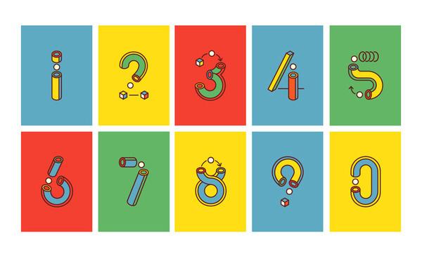 Jaime Fernandez #design #graphic #jaime #numers #fernandez