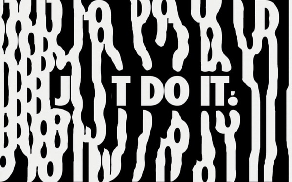 Content Aware Typography #nike #typography