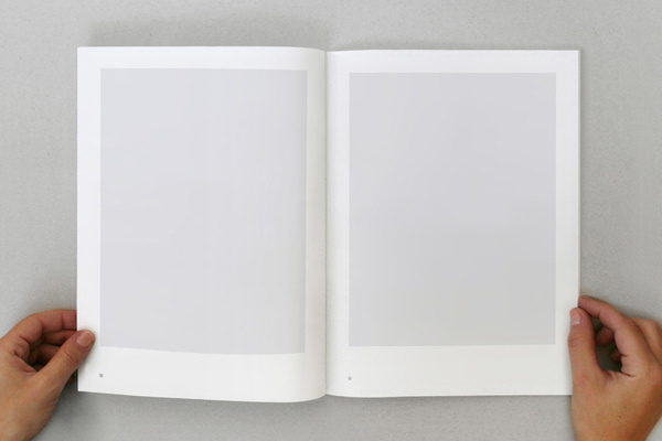 Mémoires d'un fou – Scala, 2010, laser printing, 16 x 24 cm, 72 pages, 6 books by Caroline Fabès #modern #print #design #graphic #minimal #typography