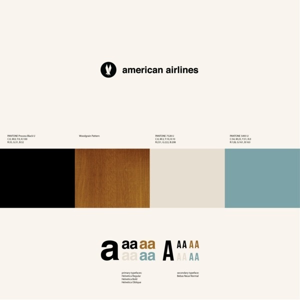 Experimental ID for American Airlines on the Behance Network