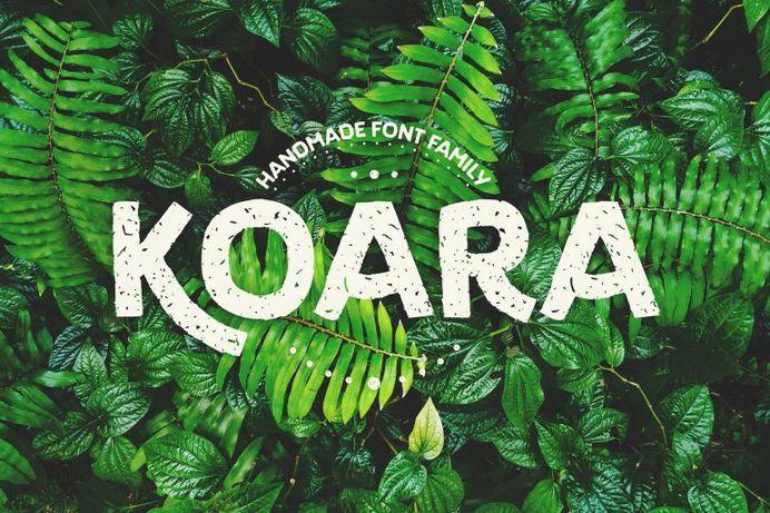 Koara / Handmade Font Family