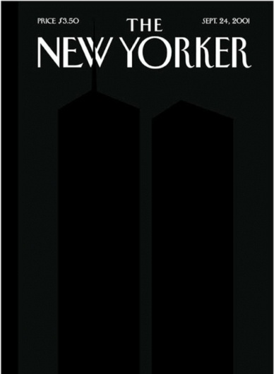 MatterPrinted › Curated covers of Printed Matter, The New Yorker September 24, 2001 #white #spiegelman #black #the #cover #yorker #illustration #art #and #magazine #new