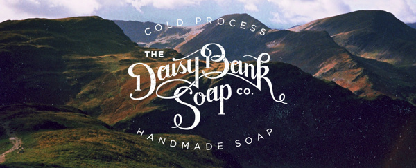 Daisy Bank Soap Co. #stamp #branding #classic #logo #soap #natural #identity #passport #type #typography
