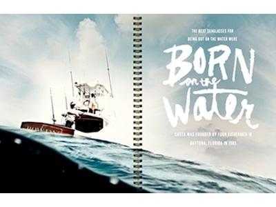 Bornonthewater #type #drawn #hand #typography