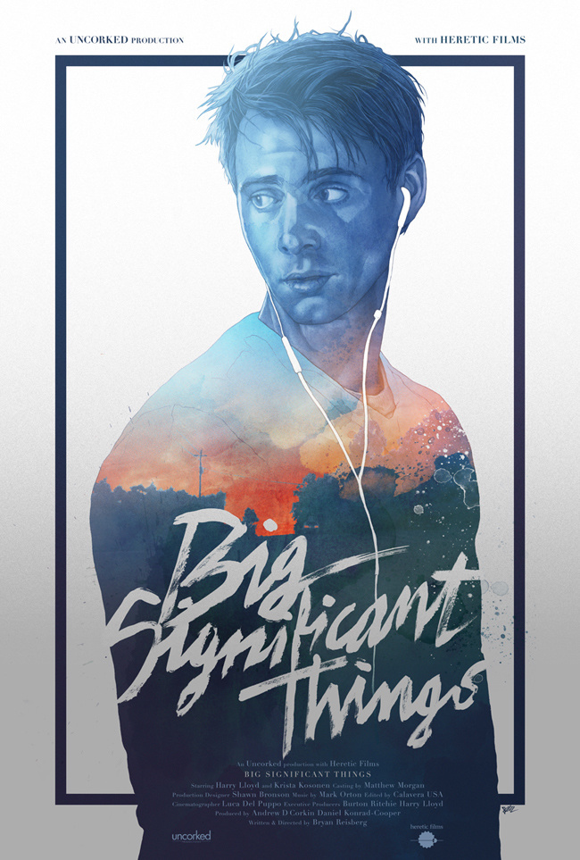 Big Significant Things by Grzegorz Domaradzki #poster #watercolor