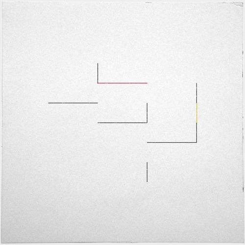 #246 Bauhaus disco – A new minimal geometric composition each day