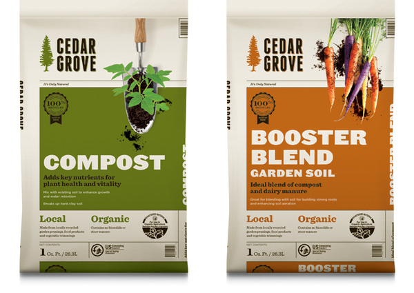 Cedar Grove Logo #packaging #mint