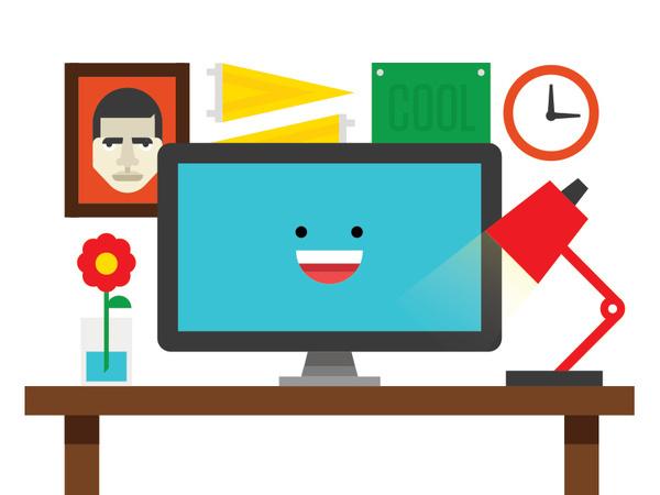 Desk #illustration