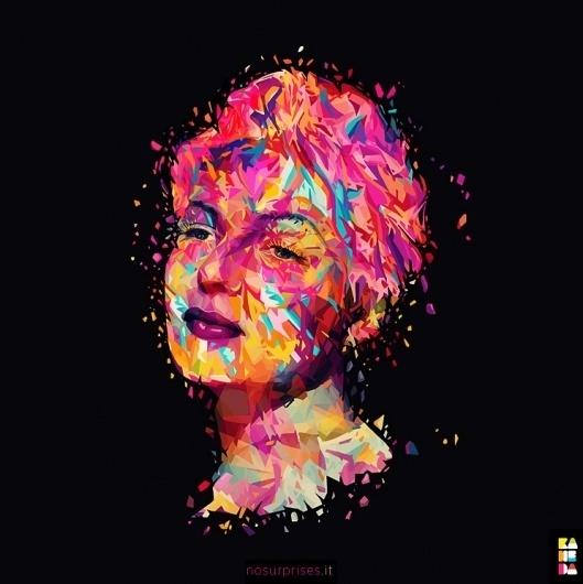 Portfolio of Alessandro Pautasso, Italy on The Creative Finder #inspiration #vector #color #illustration #portrait