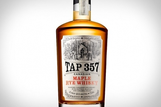 Tap 357 Canadian Maple Rye Whisky   Uncrate #packaging #alcohol