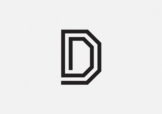 Duane Dalton's new logo http://cargocollective.com/duanedalton #lettering #design #logo #monogram #type #character #typo #typography