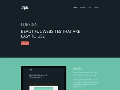 Thumb #website #theme