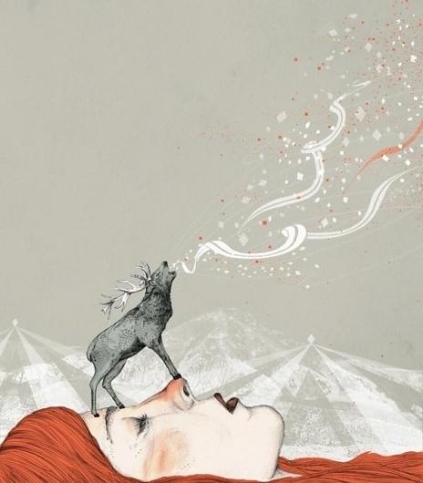 Illustrations by Sandra Dieckmann | Cuded #sandra #dieckmann #illustrations