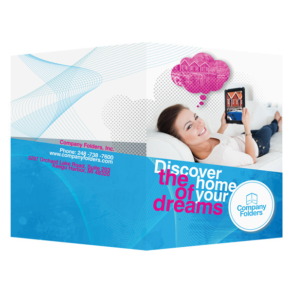 Dream Home Real Estate Folder Template #inspiration #psd #design #presentation #photoshop #template #folder