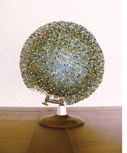 Jenny Brial Maps 5 #brial #globe #map #jennifer #art