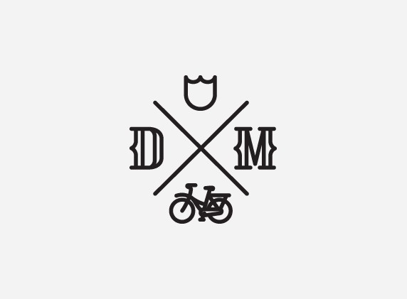mkn design - Michael Nÿkamp #mafia #tulip #icons #bike #gray #logo #dutch