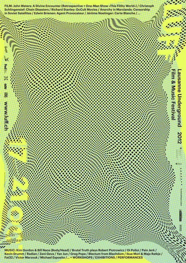 Luff 12 : DEMIAN CONRAD DESIGN #poster