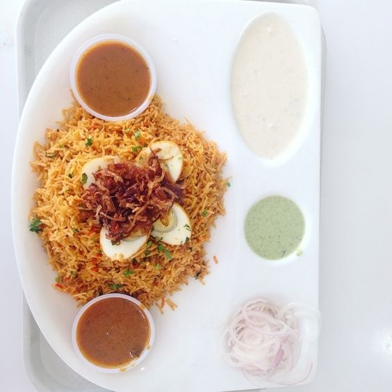 #FoodGoodseries #Biryani #top view #indian food
