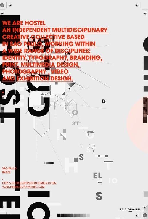 Studio Hostel #posters #typography