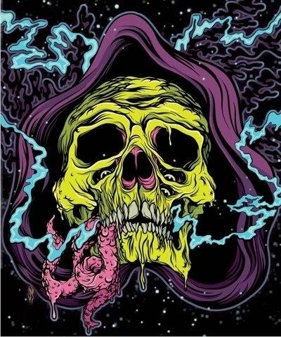 FFFFOUND!   skele_web1.jpg (JPEG Image, 834×1000 pixels) #guts #illustration #reaper #skull