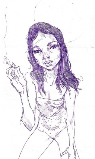 wendy | Flickr - Photo Sharing! #sketcbook #illustration #woman