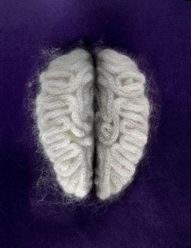 Art Sponge I Inspirational Visual Art #illenberger #sculpture #design #brain #fuzzy #sarah
