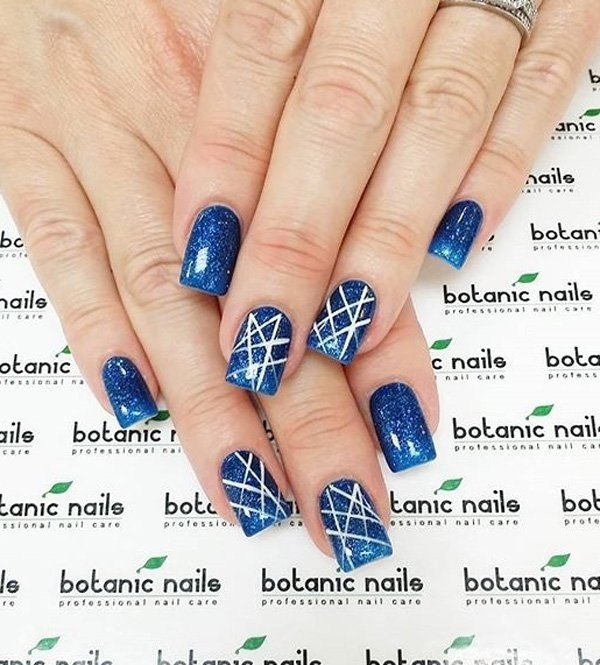 Best Nail Midnight Blue Polish Designs Images On Designspiration