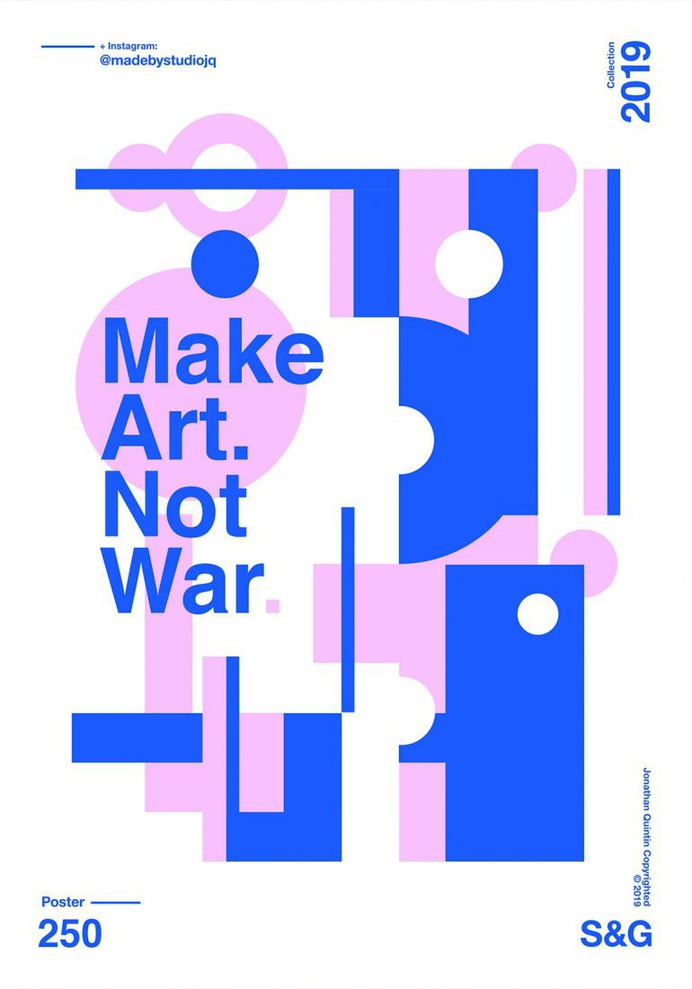 –Make Art. Not War.