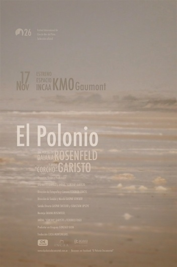El polonio, Cocumental by Diego Pinzon at Coroflot #diego #movie #pinzon #poster #layout