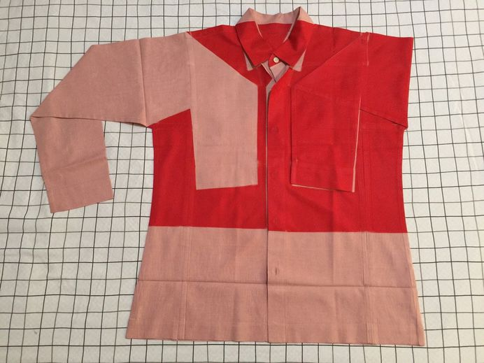 """amandlameanspower: """"Homme Plisse By Issey Miyake 2015 Red Shirt """""""