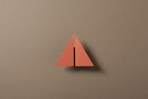 Paper & Shadow on the Behance Network #origami #paper #shadow