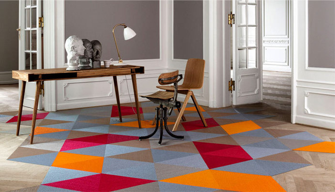 Carpet Trends 2015 Colors, Forms, Materials and Innovations bolon floor coverings #flooring #carpets #rugs #carpet design #interior flooring