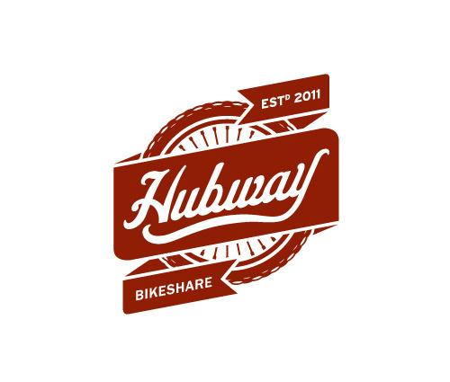 Hubway Bikeshare Boston Daran Brossard Creative Co. / DBCCo. #script #crest