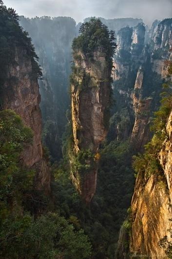 500px / Photo #angle #spire #thomas #park #zhangjiajie #photography #wide #china #nature #dawson #national