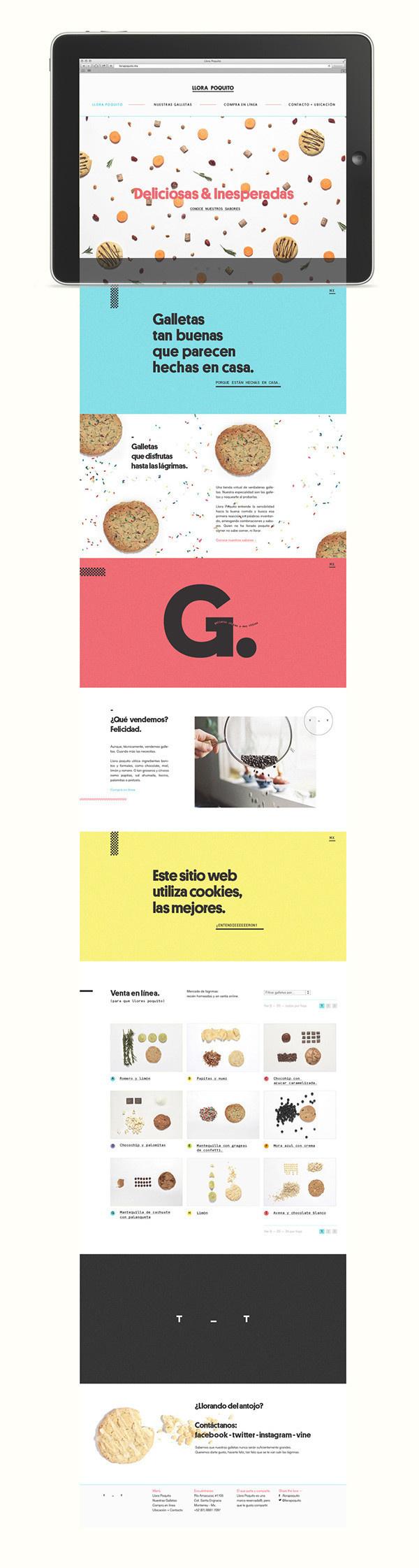 manifiesto futura #branding #food #identity #layout #web