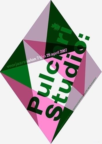 Pulchri Studio - Erik de Vlaam - Studio Dumbar #poster