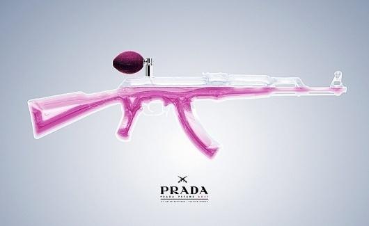 Anton Repponen #perfume #gun #prada