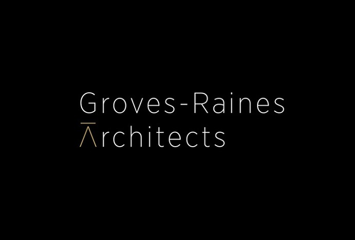 Gras & Groves-Raines Architects by Graphical House #logotype #typography