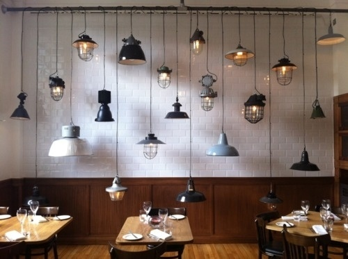 The Black Workshop #interior #design #lamps #deco #decoration