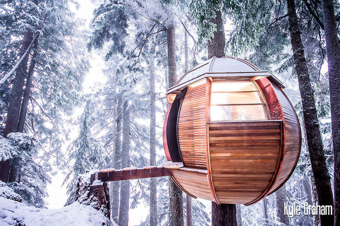 Hemloft In Whistler, Bc, Canada #treehouse