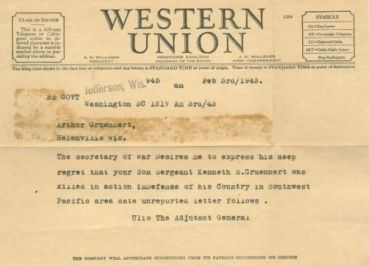 Telegram 1943 + xoxo #telegram #war #vintage