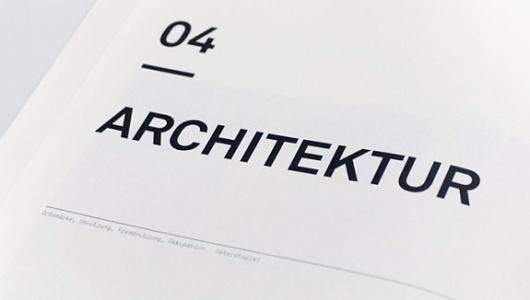 Plato Architekten #typography