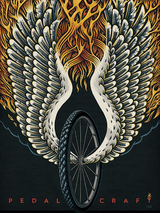 Design Work Life » cataloging inspiration daily #wings #illustration #wheel