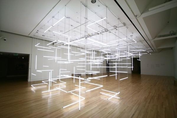 CJWHO ™ (THROUGH HOLLOW LANDS by Lilienthal Zamora | via ...) #design #light #art #installation