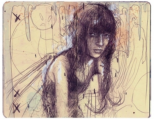 Sketches part 1 on the Behance Network #moleskine #sketchbook