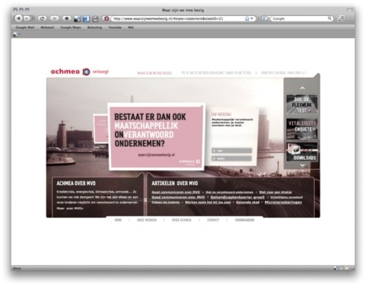 ACHMEA   WHAT ARE WE DOING IN HOLLAND? on Web Design Served #holland #doing #design #served #achmea #web