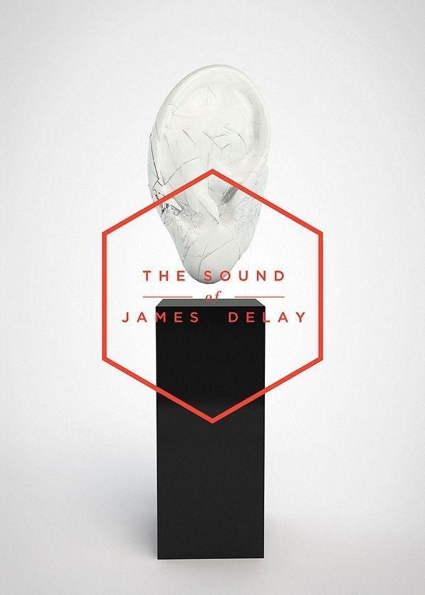 The sound of James Delay by Dimo Trifonov #hexagon #poster