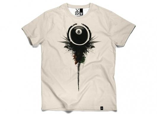 KAFT Design - SÄ°YAH8Â Tshirt #clothing #design #tshirt #eight #tee #billard