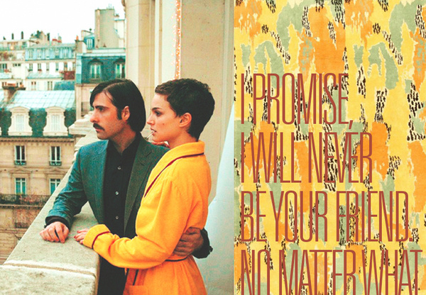 I love how mean you are. #movie #photo #wes #anderson #chevalier